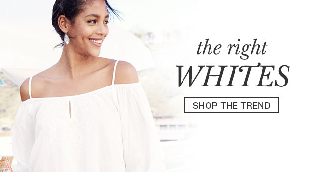 The right whites - shop the trend