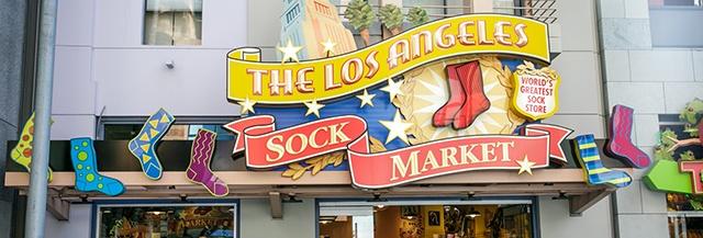 0e97f24fca61a The Los Angeles Sock Market | CityWalk Hollywood